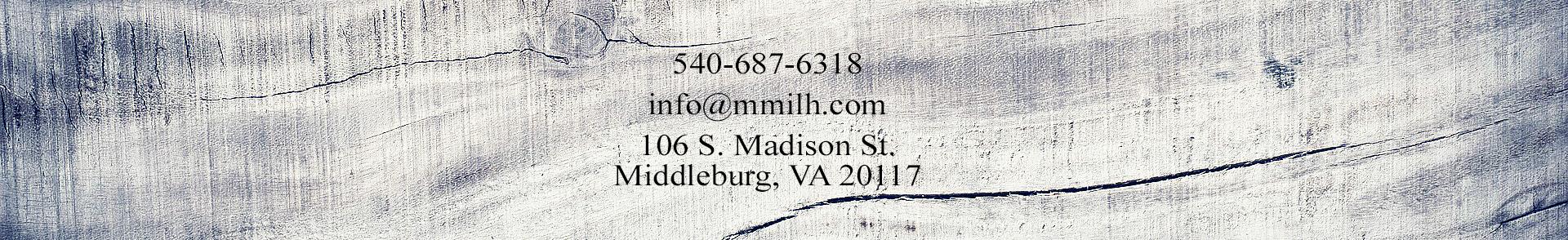 Middleburg Millwork
